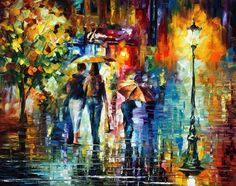 SWEET NIGHT - PALETTE KNIFE Oil Painting On Canvas By Leonid Afremov - http://afremov.com/SWEET-NIGHT-PALETTE-KNIFE-Oil-Painting-On-Canvas-By-Leonid-Afremov-Size-24-x30.html?utm_source=s-pinterest&utm_medium=/afremov_usa&utm_campaign=ADD-YOUR
