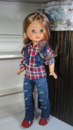 Vestidos nancy de famosa Vestidos Nancy, American Girl, Nancy Doll, Wellie Wishers, Vintage Dolls, Doll Clothes, Sewing Patterns, Hipster, Glamour