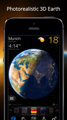 Weather Now - Forecast and 3D Earth on App Store:   Imagine that the entire globe is at your fingertips. Never before has getting weather information been as exciting and interactive as it is in the We...  Developer: DeluxeWare  Download at http://ift.tt/1smJ19G