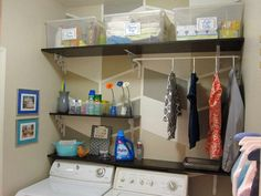 Arranging Layout for the Laundry Room: Laundry Room With Plastic Box Ideas ~ General Ideas Inspiration