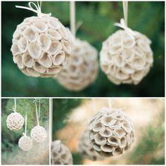 DIY: felt ornaments, nice tutorial