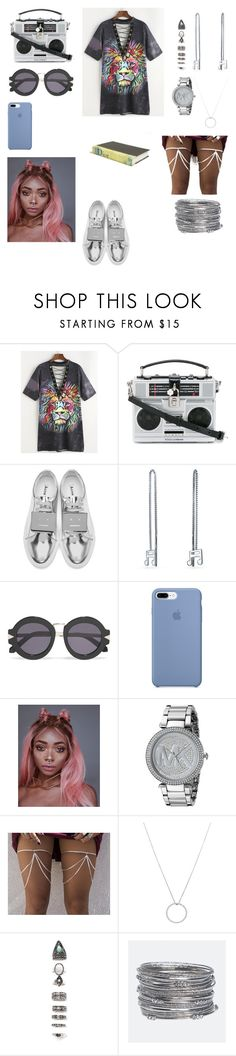 """Untitled #39"" by shbsh ❤ liked on Polyvore featuring Dolce&Gabbana, Acne Studios, Bling Jewelry, Karen Walker, Michael Kors, Roberto Coin, Nasty Gal, Avenue and E. Lawrence, Ltd."
