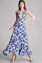 Forever 21 FOREVER 21+ Nightwalker Floral Maxi Dress