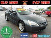 2005 Honda Accord 2.4 LX Sedan   Used Cars in Miami  Buy Here pay Here  $6990