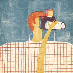 Coyote Atelier illustration inspiration: Barbara Dziadosz.