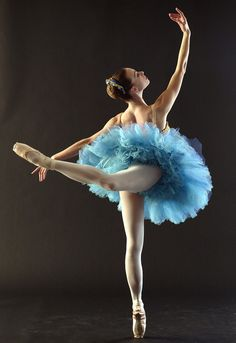 Ballerina with gorgeous hands