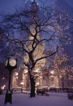 Christmas... millions of small twinkling lights, snowflakes flittering around in a light brezze, the stillness of the world in the quiet dark of winter... love!