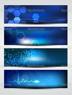 Website banner or header with shiny abstract design. EPS 10. — Vector by alliesinteract