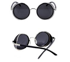 Arctic Star 80's Style Vintage Style Inspired Classic Round Sunglasses Very Popular