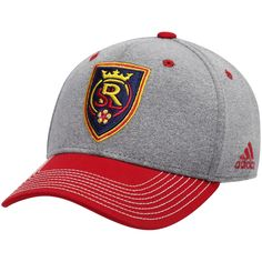 8f888ab4 Men's Real Salt Lake adidas Gray/Red Two Tone Structured Adjustable Hat,  Your Price