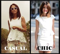 In love with peplum!! Casual or Chic.  #StyleinLima #LovelyPepa