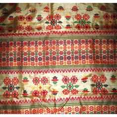 Muga Silk Saree with Mutlicolour motifs