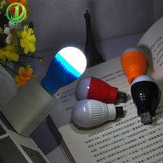 Hot Creative 5V Mini USB Led Night Light PC Mobile Power Reading Lamp Lighting LED Light for Notebook Laptop Portable Flexible   Price: 0.08 USD