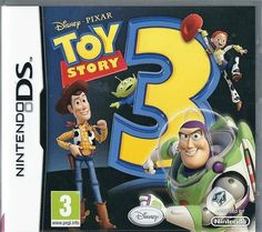 75235d6c3f04b2 Nintendo DS Disney PIXAR Toy Story 3 the video game (plays 3ds in 2D)