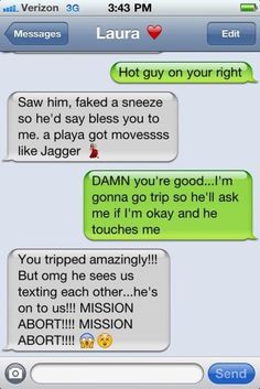 LOL. This is something Jackie & would do