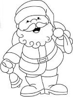 Santa Claus 2 Free printable coloring pages for kids Coloring pictures Colouring Merry Christmas Coloring Pages, Santa Coloring Pages, Easy Coloring Pages, Coloring Pages To Print, Free Printable Coloring Pages, Coloring Pages For Kids, Kids Coloring, Colouring, Christmas Tree Template