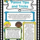 Parent Tips and Tricks Newsletter. FREEBIE- 5 newsletters so far with more to come throughout the school year!