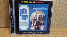 TEMPTATIONS. GETTIN' READY. CD / 14 TEMAS / THE MOTOWN COLLECTION./ LUJO.