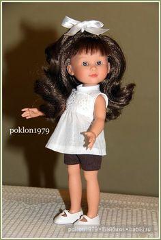 Маленькая модница. Часть 1. Игровая куколка Ani (рост 27 см) испанской фирмы Asi. //