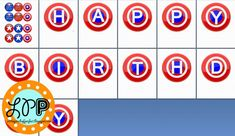 Captain America Free Birthday Printable -