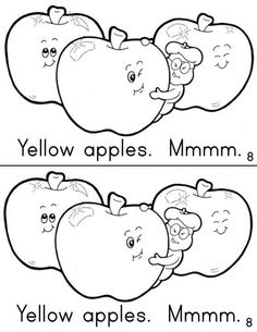 I Love Apples booklet 4/11