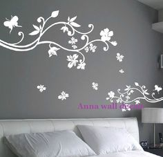 Bloom+wall+decals+children+wall+decalsvinyl+wall+by+annaandnana,+$68.00