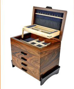 4 Drawer #Jewelry #Chest - Mikutowski Woodworking