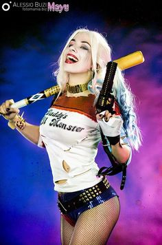 Harley Quinn from Suicide Squad  Cosplay by Mayu  photo by Fotomania #harleyquinncosplay #suicidesquad #cosplayclass #DCcomics