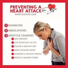 Preventing a Heart Attack | For more info about Alkaline Water: http://www.alkalux.com/knowledge-base/about-alkaline-water.html