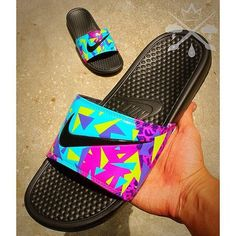 Nike Custom Bel-Air Jordan 5 Fresh Prince by DrippedCustomz Nike Sandals, Nike Shoes, Boho Sandals, Custom Sneakers, Custom Shoes, Nike Custom, Mens Fashion Shoes, Sneakers Fashion, Nike Slippers