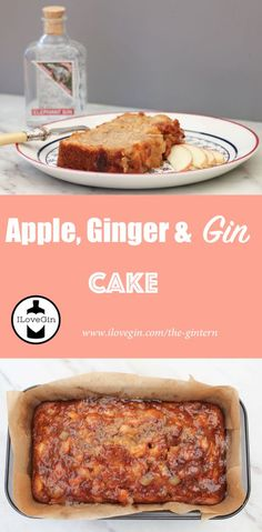 Gin and cake, what's not to like? A delicious Apple & Ginger cake made with Elephant Gin. The gin that helps save elephants! Gin Recipes, Dessert Recipes, Desserts, What To Make, How To Make Cake, Gin Lovers, Gin And Tonic, Food Pictures, Banana Bread
