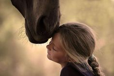 I remember feeling this kind of love & friendship. Now the girls are starting to get into horses and feeling the same. It just melts my heart.