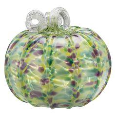 Chrissy Lapham: Reflections Pumpkin  #cmogshops #glass #pumpkin #decor #fall