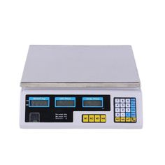 This #Digital #Scale #Price provides a fast, simple weighing solution, which can be used in bakeries, coffee shops, produce markets, delis, convenience stores, and hardware stores worldwide. You no longer have to guess what a product costs, because our price computing scales will give you accurate prices on products such as fruits, vegetables, candy, or bakery goods.