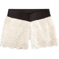 FULL TILT Crochet Girls Shorts