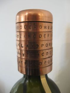 A bottle vault - to stop friends from stealing your wine, or just to give a combined gift of a bottle of wine + a puzzle.