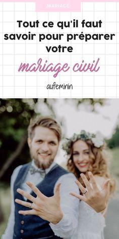 Pour les futurs mariés : toutes les choses à savoir sur la préparation du mariage civil /// #mariage #civil #aufeminin