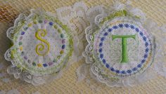 Monogrammed Aromatherapy Stress soothing Pillow by stitchcottage, $6.00