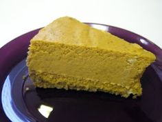 Heidi's So-Called Life: Pumpkin Cheesecake
