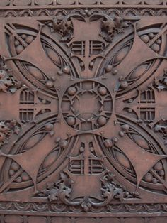 Louis Sullivan tile - had Motawi Tile in Ann Arbor make Sullivan style (similar to this) tiles for our fireplace surround. Chef D Oeuvre, Oeuvre D'art, Ceramic Pottery, Ceramic Art, Phrenology Head, Louis Sullivan, Art Nouveau Tiles, 3d Studio, Clay Tiles