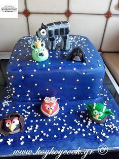 ΤΟΥΡΤΑ ANGRY BIRDS STAR WAR Angry Birds, Star Wars, Lunch, Stars, Desserts, Food, House, Home Decor, Ideas