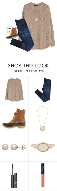 """""""Contest ootd"""" by preppy-ginger-girl ❤ liked on Polyvore featuring MANGO, rag & bone, L.L.Bean, Honora, Jennie Kwon, NARS Cosmetics and 5setsofthanksgiving"""