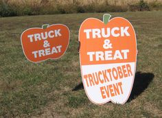 Unique and fun yard sign shapes for your business.