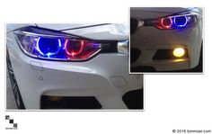 Lighting x Styling x Performance Parts for your BMW - Bimmian Automotive Lighting Accessories, Performance Parts, Bmw Cars, Color Mixing, Color Change, Halo, Kit, Colors, Light Fixtures