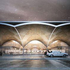Forbes Massie / 3D Visualisation Studio / London - Work - Haptic / Rostov Airport