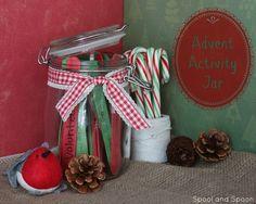 Spool and Spoon: Advent Activity Jar