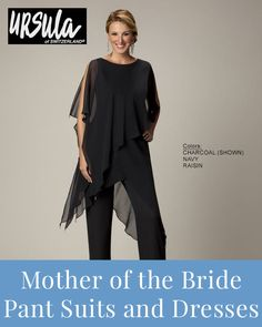 Comfortable mother of the bride pant suits and dresses >>