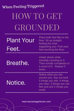 Here is a simple, common and free grounding technique for times when you need to feel more grounded. www.laurareaganlcswc.com