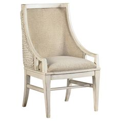 Side Chair With A Woven Seagr Back And Upholstered Seat Product Chairconstruction Material Living Room