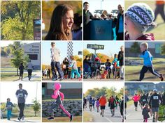One mile fun run and 5K images at Stone Canyon Elementary